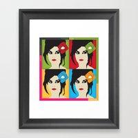 Volver Framed Art Print