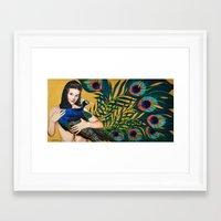 Ten Eyes On You Framed Art Print
