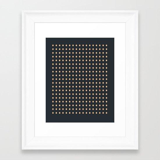 Famous Capsules - waldo Framed Art Print