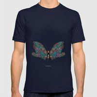 - flyfly - Mens Fitted Tee Navy SMALL