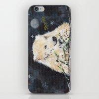 Polar Bear (night Hunt) iPhone & iPod Skin