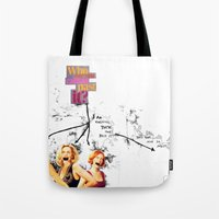 Who Are You Calling Past… Tote Bag