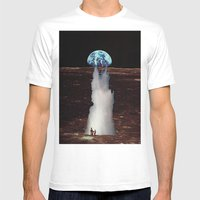 ERUTNEVDA Mens Fitted Tee White SMALL