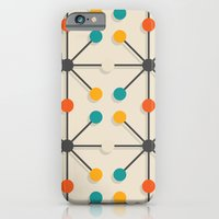 iPhone & iPod Case featuring Midcentury Pattern 02 by BLKSPC