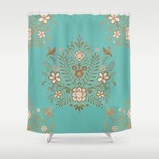 Boho Baby Shower Curtain