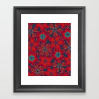 NEW BAUHINIA Framed Art Print