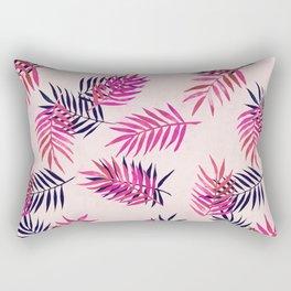 Rectangular Pillow - Pink Palm Pattern - micklyn