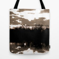 halloween sunrise Tote Bag