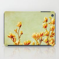 wednesday's magnolias iPad Case