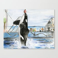 Marine Star Canvas Print