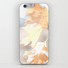 Abstract Oak Leaves iPhone & iPod Skin