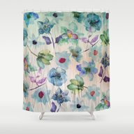 Shower Curtain featuring Dreaming Of Spring 2 by Klara Acel