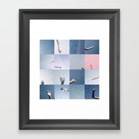Without Saying Goodbye Framed Art Print