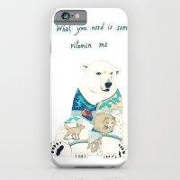 polar bear iPhone & iPod Cases featuring Polar Bear by Yuliya