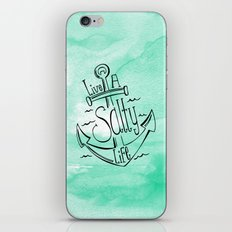 Live A Salty Life iPhone & iPod Skin