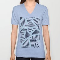 Ab Linear Zoom With Mint Unisex V-Neck