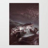 Night Sky Stories Canvas Print