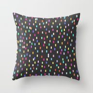 A Universe Of Colorful D… Throw Pillow