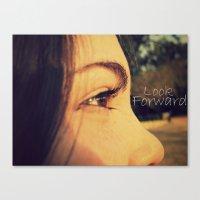 Look Forward Canvas Print