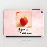 Enjoy the little things iPad Case