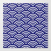 Circle B Canvas Print