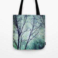 Wintergreen Twilight Tote Bag