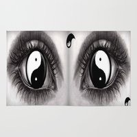 7 Eye Collection: Yin Yang In Your Eyes Rug