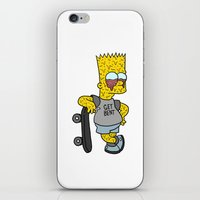 MELTING BART iPhone & iPod Skin