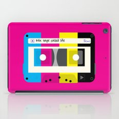 CMYK Mix tape called life iPad Case
