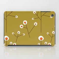 Retro Green Pattern Design iPad Case