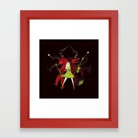 My savage band Framed Art Print