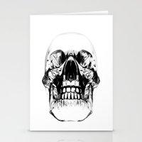 Crystal Skull Stationery Cards