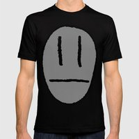 My head's not that big!! Mens Fitted Tee Black SMALL