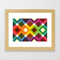 Squares & Colours (2013) Framed Art Print