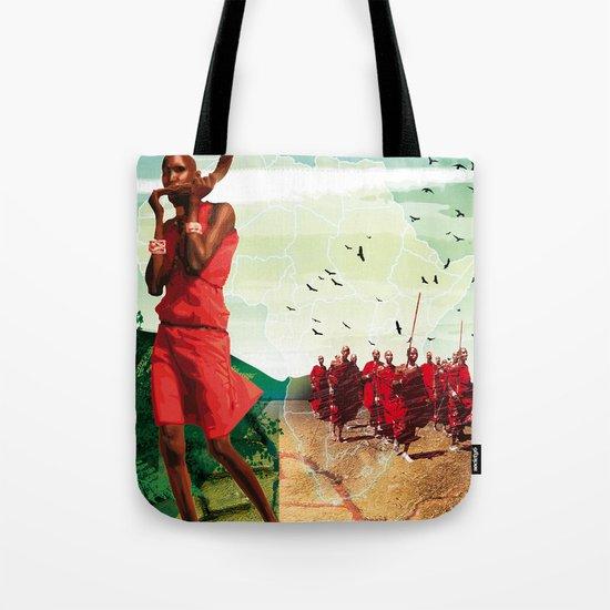 Poster Afryka! Tote Bag