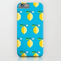 Fruit: Lemon iPhone 6 Slim Case
