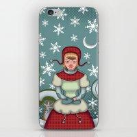 peaceful snow  iPhone & iPod Skin