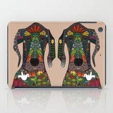 Great Dane love beige iPad Case