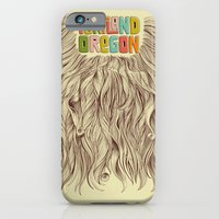 iPhone & iPod Case featuring Portland = Beards by Rachel Caldwell