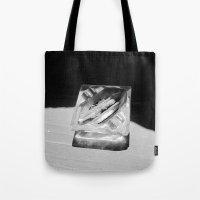 2 Cigarettes In An Ashtr… Tote Bag