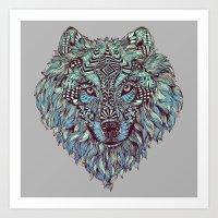Wolf (Lone) Art Print