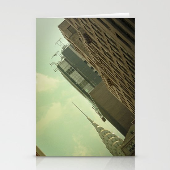 Skewed view Stationery Card