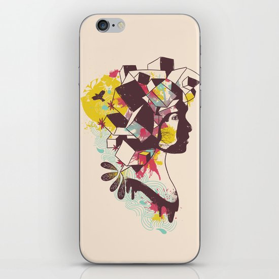 Overcrowded Memory iPhone & iPod Skin