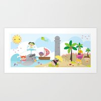 summer party Art Print
