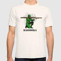 Bassoon Bassooka Mens Fitted Tee Natural SMALL