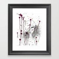 KILLA Framed Art Print