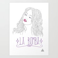 La Bomba Art Print