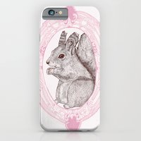 iPhone & iPod Case featuring Cameo Squirrel by Rosepetaldeer