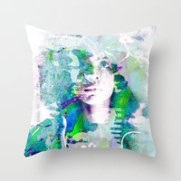 Ode To Badu Throw Pillow