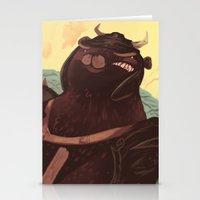 Ye Olde Smokey Stationery Cards